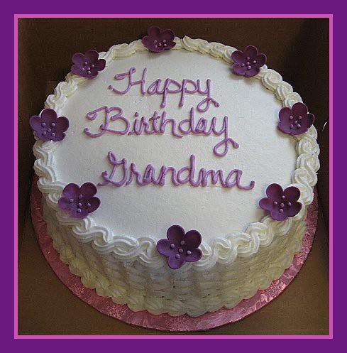 Amazing Grandmas Birthday Cake Tinkabellz17 Flickr Funny Birthday Cards Online Chimdamsfinfo