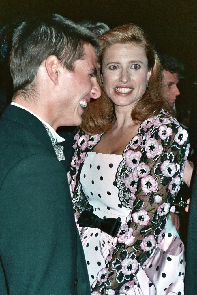 Tom Cruise Mimi Rogers Tom Cruise And Mimi Rogers At