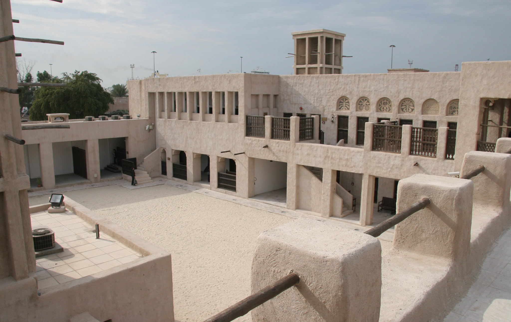 Sheikh Saeed Al Maktoum House, photo by Ian Lloyd.