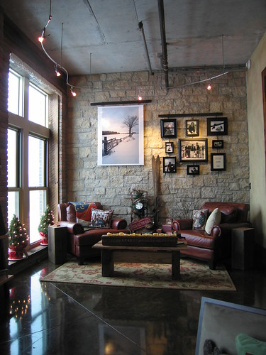 christmas wood trees tree stockings leather architecture loft lawrence fireplace stainlesssteel downtown unitedstates timber rustic architectural ku ornaments limestone kansas santaclaus jayhawk alder flanders christmasornaments christmasstockings tracklighting concretefloor hearthroom reclaimedwood customwoodwork usedbrick stainedconcrete techlighting christmasmantle travertinetile reclaimedtimber knottyalder rusticalder rusticeuropean wolfappliance vikingappliance vaillodge