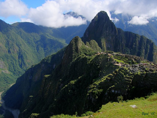 Machu Picchu, the lost city of the Incas, Peru