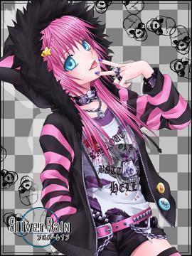 anime girl emo