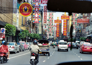 Chinatown in Bangkok | by 9.81 meters per second squared