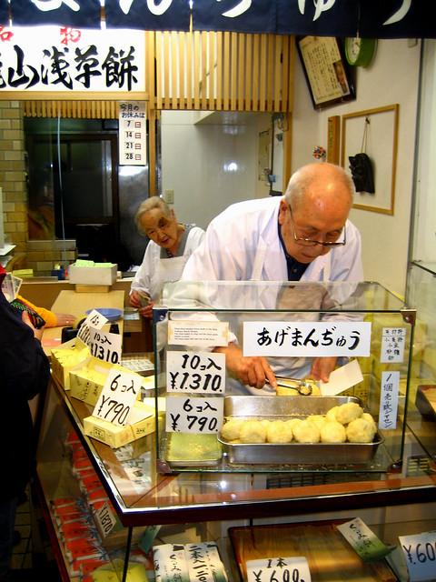 Nakamise Dori's Market