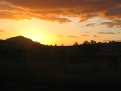 Sunset over Laidley