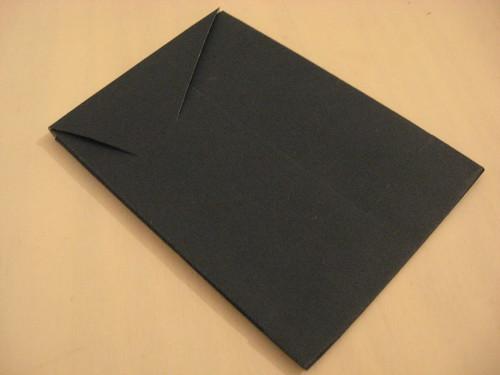 Envelope de papel cartão   by comofaz