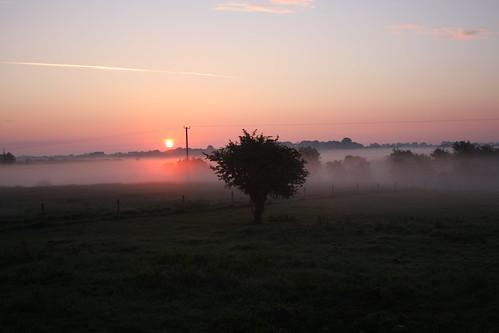 galway sunrise caherlistrane curlawn
