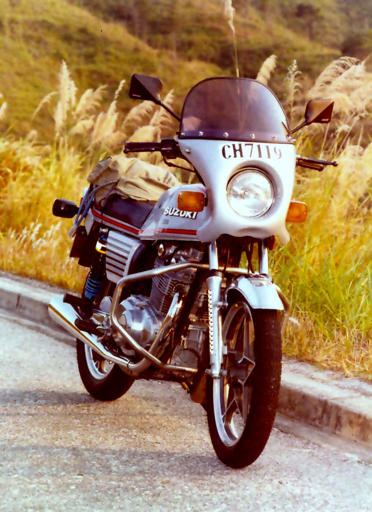 My beautiful horse Suzuki GS 450 in 1980 | A 27 years old 3R… | Flickr