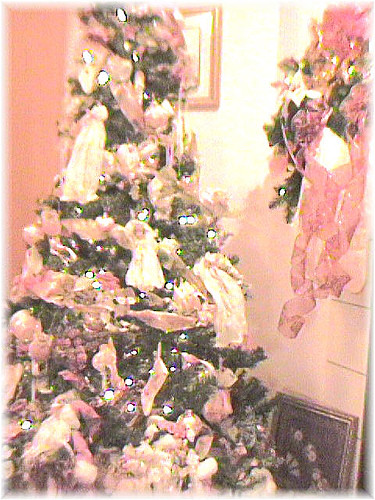 Victorian Christmas Tree.Victorian Christmas Tree In Bedroom 7 1 2 Foot Victorian T