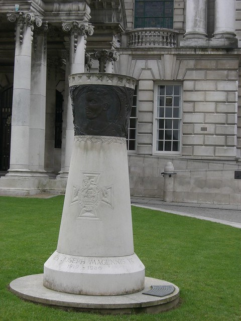 Memorial to James Joseph Magennis VC