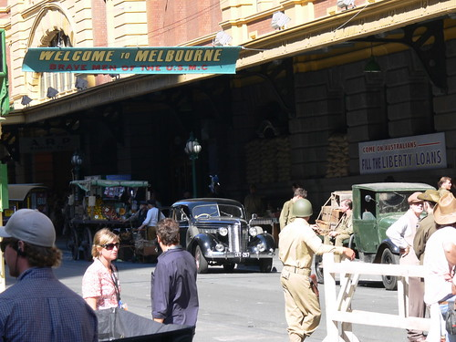 'The Pacific' filming on Flinders Street | by brewz