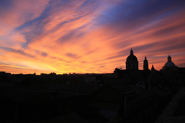 Duomo Catania al tramonto