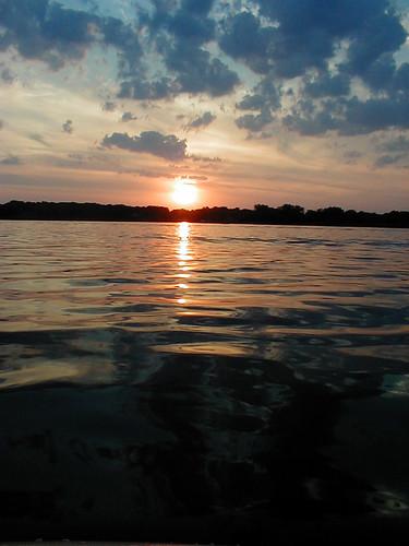Sunset on Eagle Lake, MN | by RichInMN