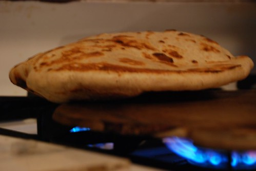 Sada roti on the tawah | by Chennette