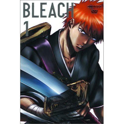 Bleach Season 1, DVD 1 | The cover of the first Bleach DVD