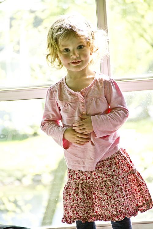 Violet's New Skirt 2