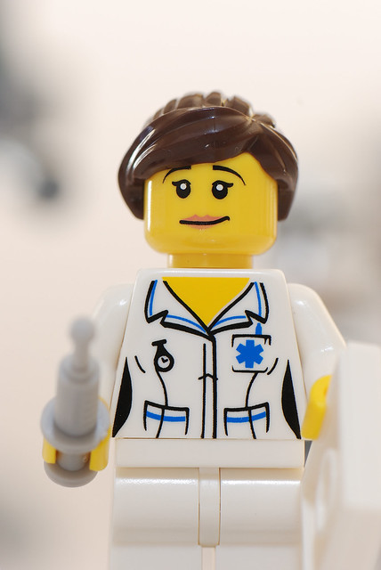 Lego Mini Figures - Nurse