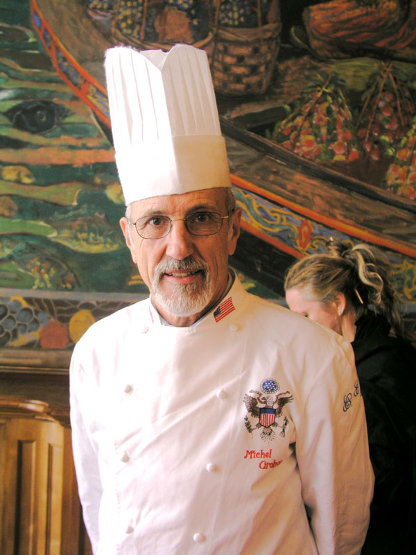Le chef Michel Grobon
