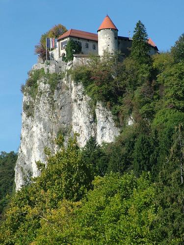 Hrad nad Bledským jezerem