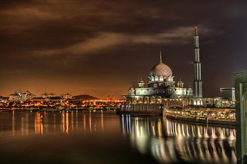 longexposure canon eos mosque malaysia putrajaya hdr eow 7xp 400d vedd outingwithdaniel
