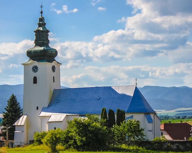 Turčiansky Michal kostol / church