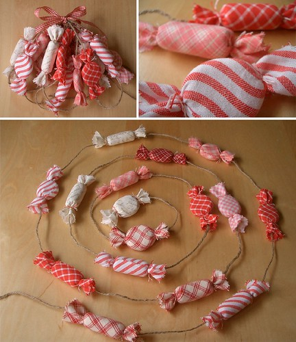 Peppermint garland | by PatchworkPottery