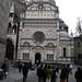 Piazza del Duomo in Bergamo Alta, Italy