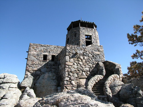 Harney Peak Fire Lookout Tower | by im me