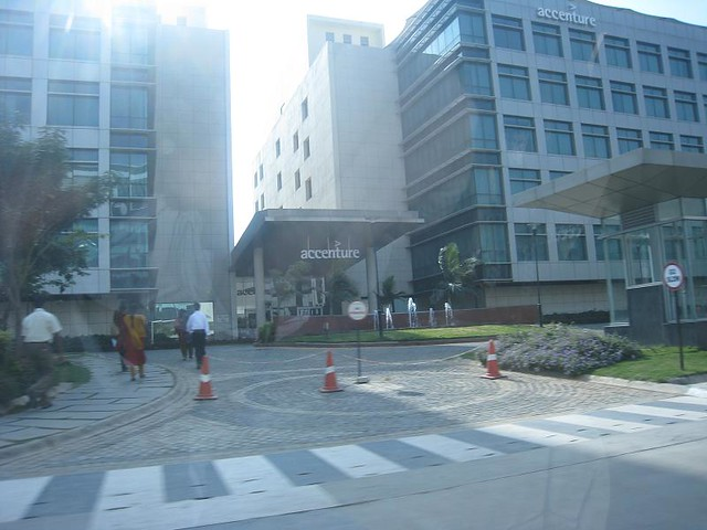 Accenture Bangalore | Across the street from AOL