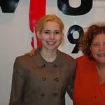 Tue, 29/03/2005 - 4:37pm - Nellie McKay at WFUV with Rita Houston