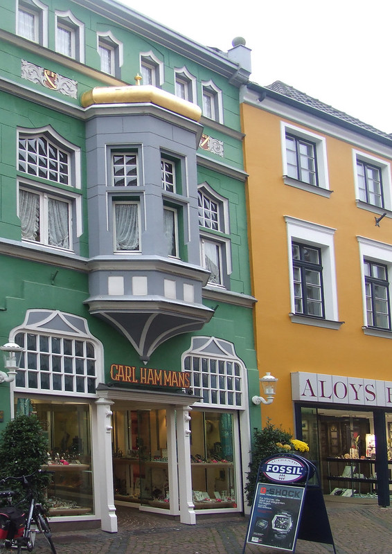 Shops in Xanten: Rhine