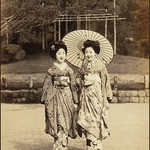 Two Young Maiko Strolling