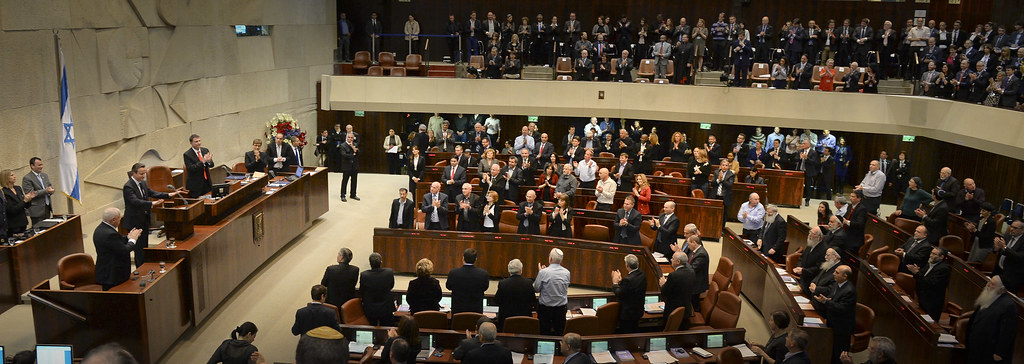 David Cameron at the Knesset in Israel