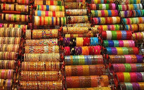 India - Colours of India - 017 - bangles - close-up | by mckaysavage