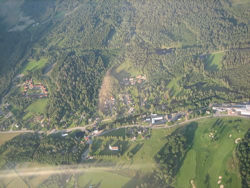 aerialview sverige airview hudene swedencountryside