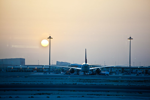 Sunrise over Doha | by Christian Yates