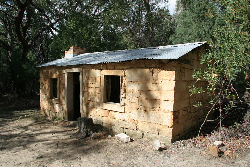 Grampians - Miner's cottage