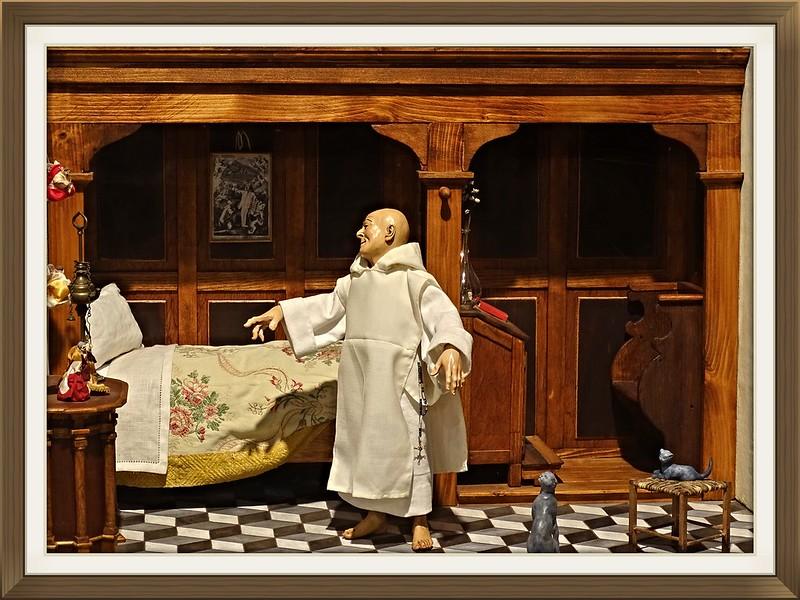 """Mostra Presepi Nel Convento Sant'Agostino.Associazione """"Amici del Presepio- sez.Pietro Gallo"""" di Padula"""