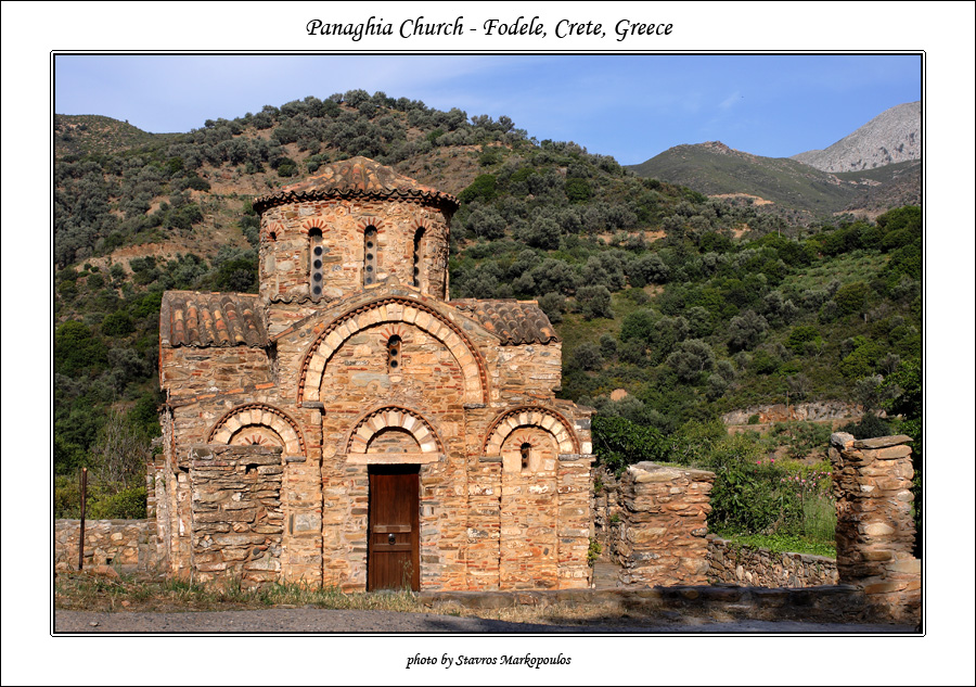 Church of Panaghia by macropoulos
