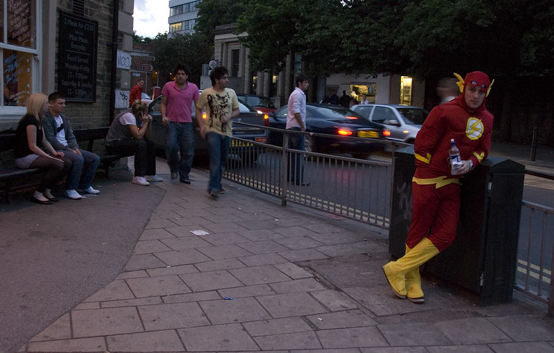 Leave it alone, Captain Flash