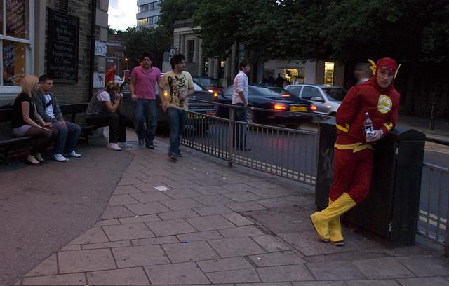 Leave it alone, Captain Flash