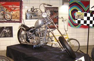 650 Triumph retro chopper