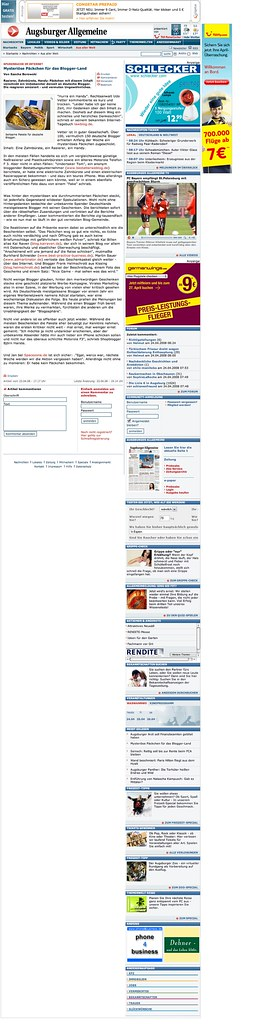 Augsburger Allgemeine Live Blog