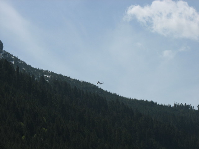 Sikorsky S-64 Skycrane heli-logging