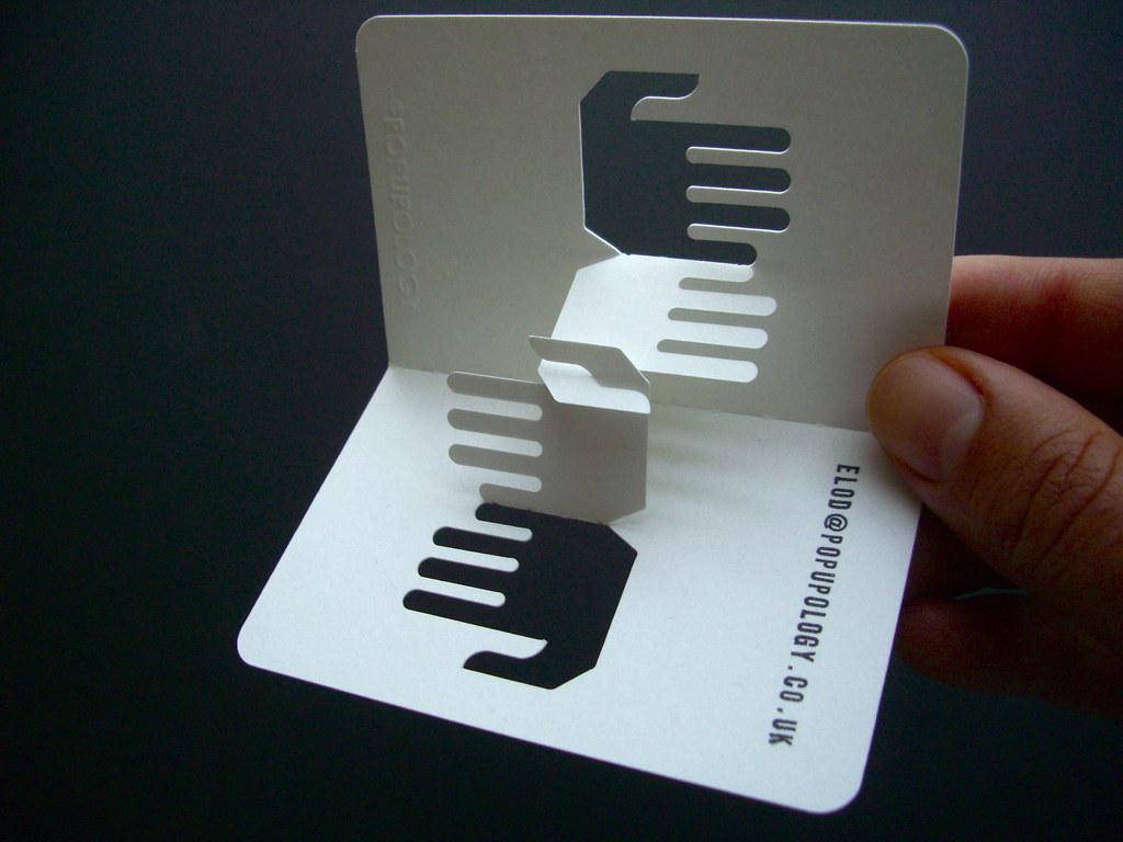 Корпоративные объемные открытки