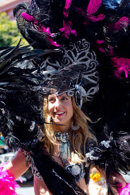 Carnaval SF 2011: Jessica from Energia do Samba