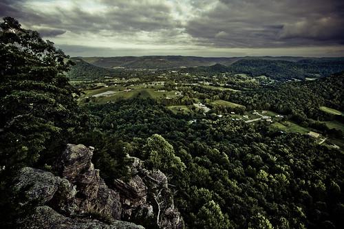 trees shadow sky cliff tree rock clouds landscape kentucky farms 1022mm berea indianfortmountain