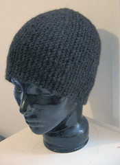 Garter Short-row Hat from knitlist | by knottygnome