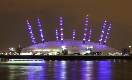 O2 Arena with Clipper   by markescapes