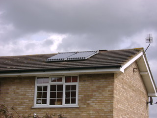 Solar Water Heating | by London Permaculture
